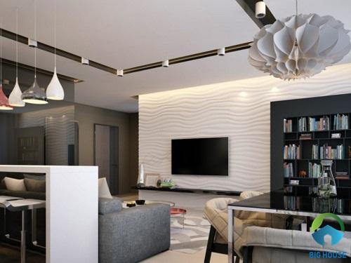 Thiết kế nội thất chung cư CT12 KĐT Văn Phú Hà Đông 2