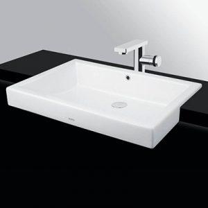 Chậu lavabo âm bàn Toto LW646JW/F