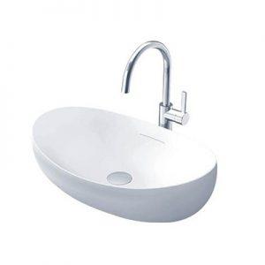 Chậu lavabo dương bàn Toto PJS01WE#MW