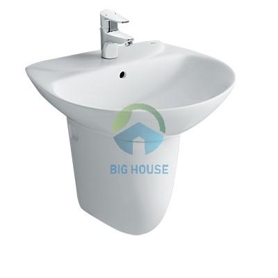 Chậu lavabo treo tường Inax L-285V(EC/FC)(chân ngắn)