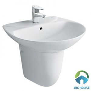 Chậu lavabo treo tường Inax L285V/L288VC