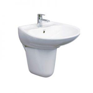 Chậu lavabo treo tường Toto LHT300CR