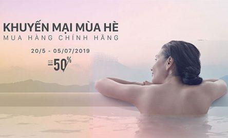 INAX – TƯNG BỪNG KHUYẾN MÃI MÙA HÈ 2019 – OFF TỚI 50%