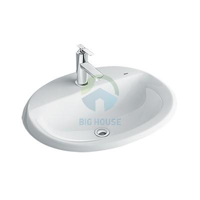 Chậu lavabo âm bàn Inax L2395V