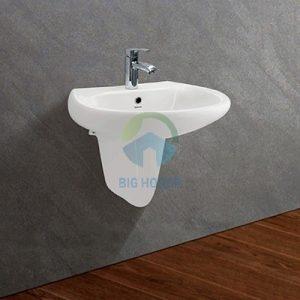 Chậu lavabo treo tường Viglacera VI5+C