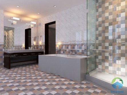 Bí quyết chọn gạch lát nền nhà tắm chống trơn Hiệu quả – An toàn