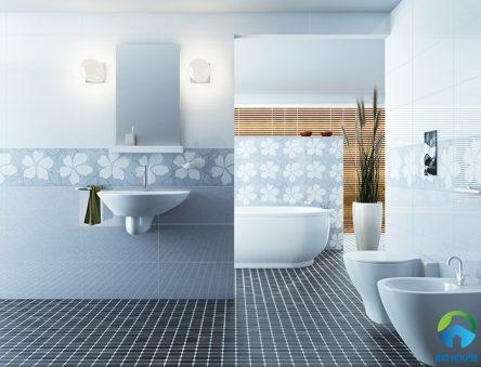 15++ Mẫu gạch lát nền nhà tắm, nhà vệ sinh đẹp và hướng dẫn chọn gạch