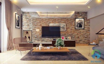 20 mẫu gạch ốp trang trí phòng khách cực đẹp – Không bao giờ lỗi mốt