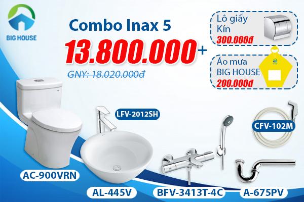 Khuyến mãi bộ Combo Inax 5