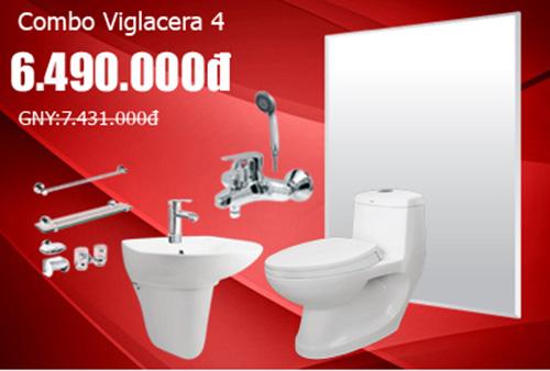 Khuyến mãi bộ Combo Viglacera 4.1