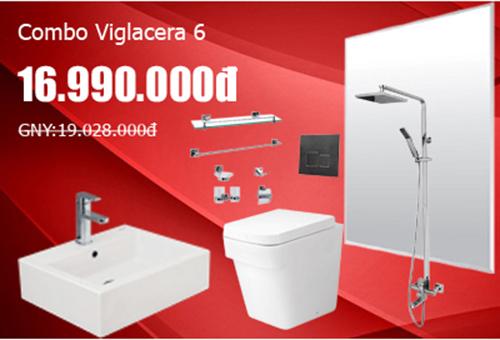 Khuyến mãi bộ Combo Viglacera 6