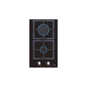 Bếp ga 2 vùng nấu Cata LCI 302 BK