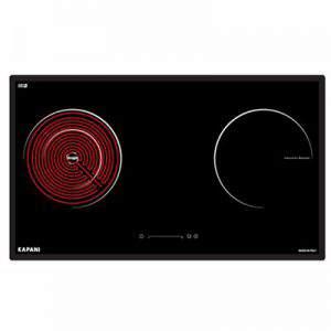 Bếp từ kết hợp hồng ngoại hai vùng nấu Kapani K-72114S