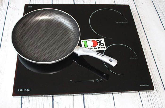 Bếp từ kết hợp hồng ngoại ba vùng nấu Kapani K-58210S 1