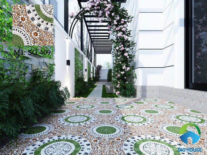 các loại gạch lát sân vườn 11