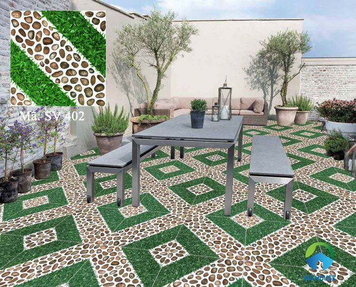 các loại gạch lát sân vườn 9