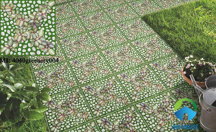 gạch cỏ lát sân vườn 10