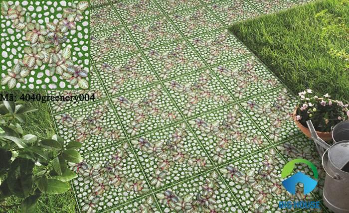 Gạch cỏ lát sân Prime 40x40 09407
