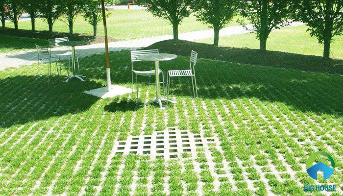 gạch cỏ lát sân vườn 17