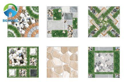 20 mẫu gạch cỏ lát sân vườn cho không gian tươi mới