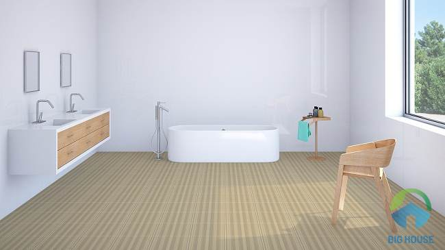 gạch lát nền nhà vệ sinh màu nâu 3
