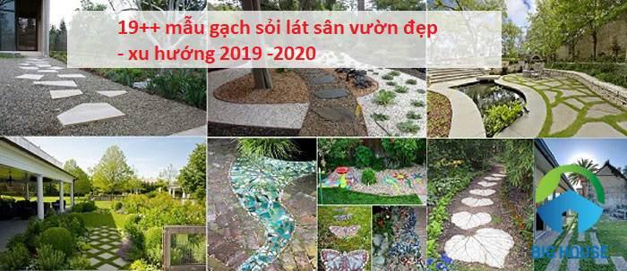 gạch sỏi lát sân vườn 21