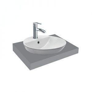 Chậu lavabo bàn đá Viglacera V26