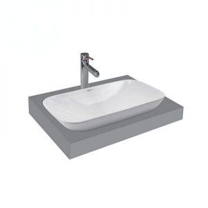 Chậu lavabo bàn đá Viglacera V28