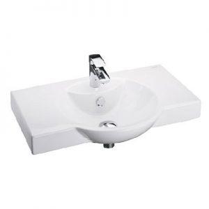 Chậu lavabo treo tường Cotto C0055
