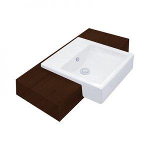 Chậu rửa lavabo âm bàn Cotto C02717