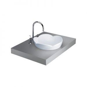 Chậu rửa lavabo dương bàn Cotto C0001
