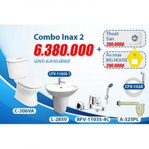 Khuyến mãi bộ Combo inax 2.1