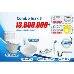Khuyến mãi bộ Combo inax 5.1