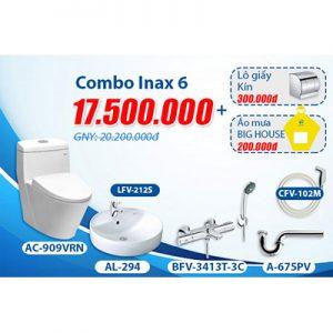 Khuyến mãi bộ Combo inax 6.1