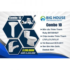 Khuyến Mãi Combo TBVS CB10