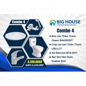 Khuyến Mãi Combo TBVS CB4