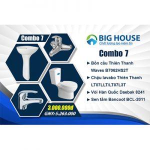Khuyến Mãi Combo TBVS CB7