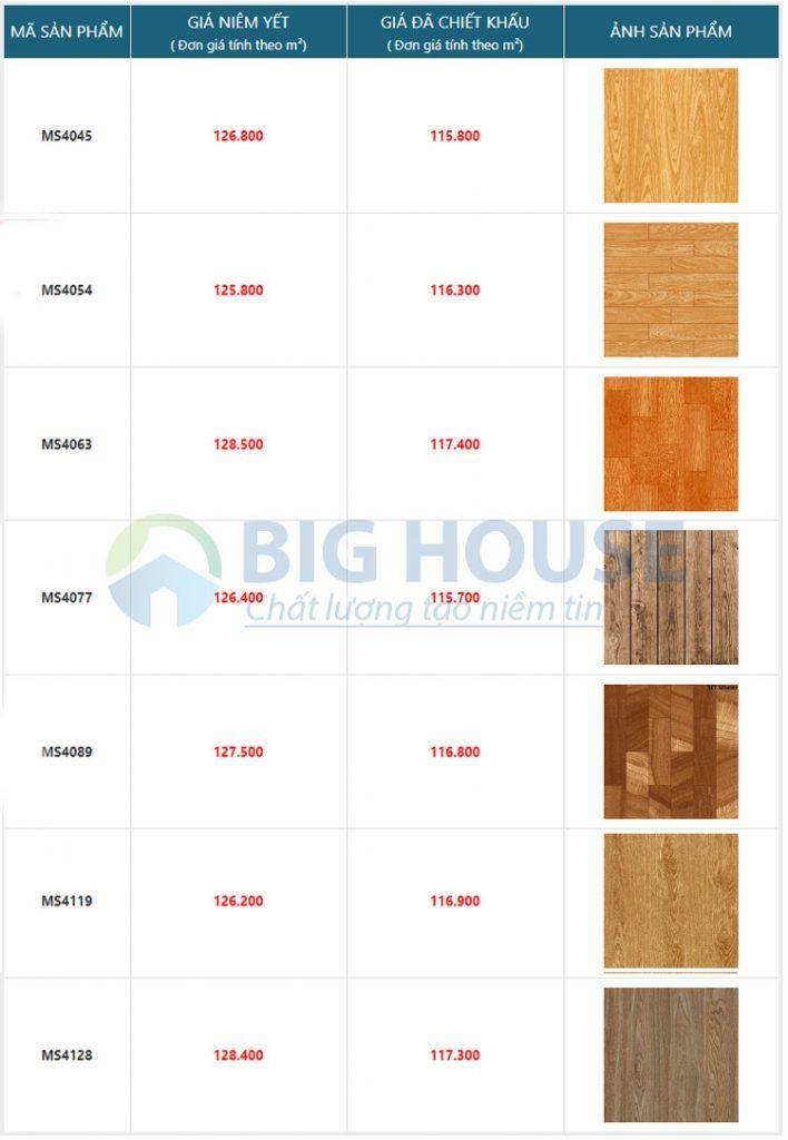 gạch giả gỗ mikado 10