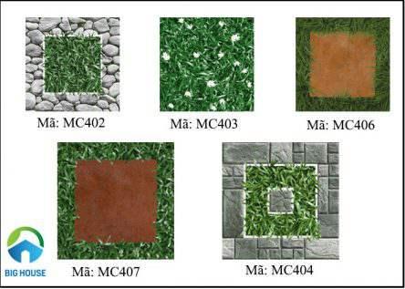 Gạch cỏ Mikado ứng dụng không gian nào? Tham khảo mẫu
