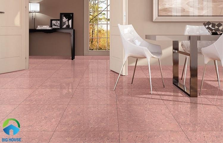 gạch lát nền màu hồng 6