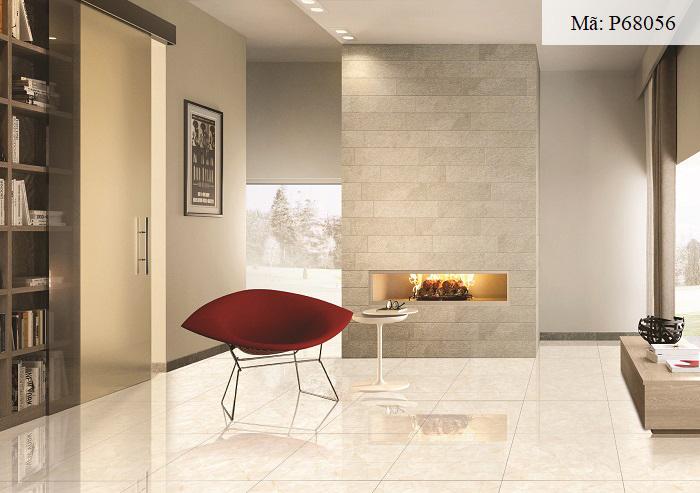 Gạch Ý Mỹ P68056 màu vàng vân đá rất sang trọng, hiện đại. Họa tiết gạch được in sắc nét, chân thực. Đem đến giá trị thẩm mỹ cao cho các căn phòng. Sản phẩm có kích thước 60x60, phù hợp để lát nội thất.