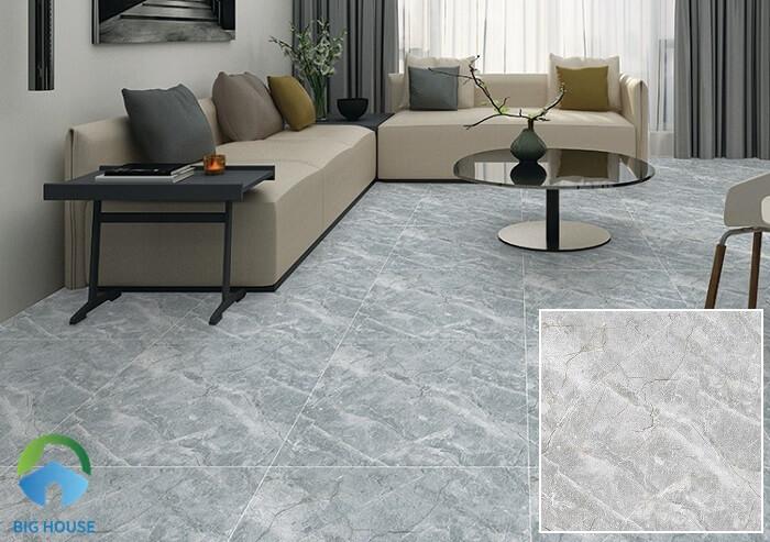 gạch lát nền màu xám Ý Mỹ p65011c
