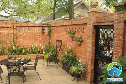 16+ Mẫu gạch ốp tường sân vườn kiến tạo không gian đăng cấp