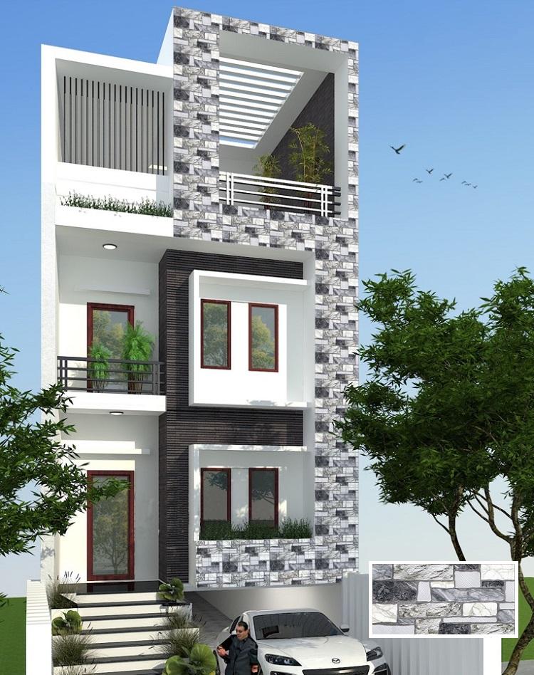 BD2040-2402 là một mẫu gạch ốp mặt tiền nhà phố được nhiều gia chủ lựa chọn