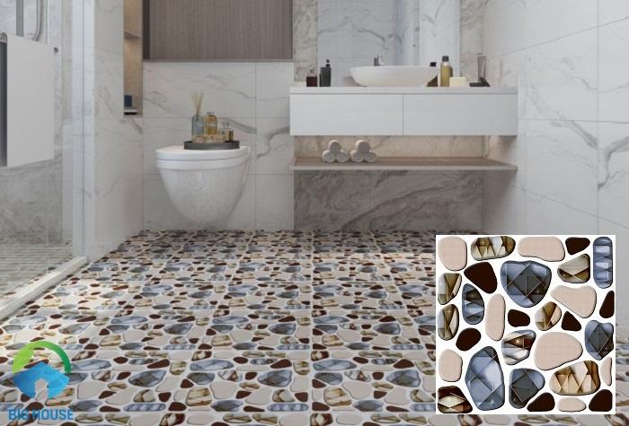 Viglacera GS 313 là mẫu gạch sỏi lát nền nhà tắm được khá nhiều người dùng ưa chuộng hiện nay