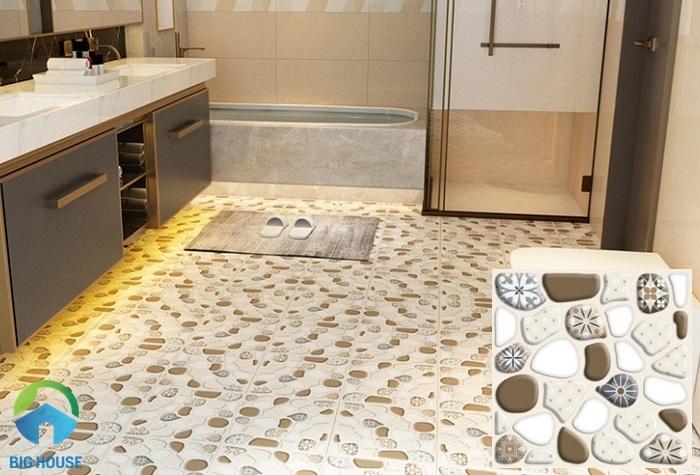 DGS 3055 cũng là mẫu gạch sỏi lát nhà tắm mới ra mắt của hãng CMC
