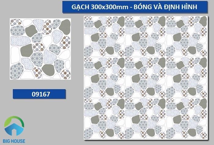 Prime 09167 là mẫu gạch sỏi sở hữu tông màu lạnh
