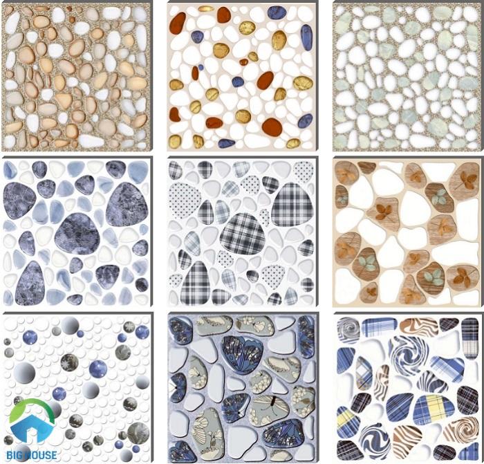 Một số mẫu gạch sỏi Viglacera đang được ưa chuộng nhất hiện nay