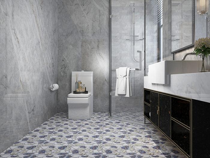 Không gian phòng tắm trở nên ấn tượng hơn với mẫu gạch Viglacera GS311
