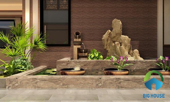 Gạch giả cổ màu nâu đỏ GW2432 càng tăng thêm sự tự nhiên cho không gian. Mẫu gạch này dùng được cho mọi thiết kế nhà ở.